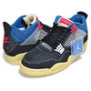 NIKE AIR JORDAN 4 RETRO SP UNION off noir/lt fusion red DC9533-001画像