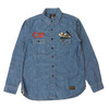 "TOYS McCOY MILITARY CHAMBRAY WORK SHIRT 23rd FG ""CBI THEATER"" TMS2008画像"