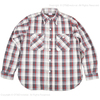WAREHOUSE Lot 3104 FLANNEL SHIRTS D柄 ONE WASH画像