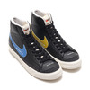 NIKE W BLAZER MID '77 BLACK/PACIFIC BLUE-HABANERO RED-SAIL DA2142-046画像