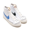 NIKE W BLAZER MID '77 WHITE/PACIFIC BLUE-HABANERO RED-SAIL DA2142-146画像