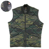 Dickies Camo Diamond Quilted Vest TE241画像