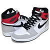 NIKE AIR JORDAN 1 RETRO HI OG white/black-lt smoke grey 555088-126画像