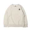THE NORTH FACE SQUARE LOGO CREW OATMEAL NT62041-OM画像