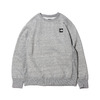 THE NORTH FACE SQUARE LOGO CREW MIX GREY NT62041-Z画像