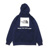 THE NORTH FACE BACK SQUARE LOGO HOODIE TNF NAVY NT62040-NY画像