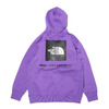 THE NORTH FACE BACK SQUARE LOGO HOODIE PEAK PURPLE NT62040-PP画像