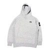THE NORTH FACE SQUARE LOGO HOODIE MIX GREY NT62039-Z画像