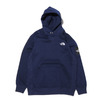 THE NORTH FACE SQUARE LOGO HOODIE TNF NAVY NT62039-NY画像