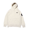 THE NORTH FACE SQUARE LOGO HOODIE OATMEAL NT62039-OM画像