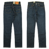 Levi's 511 SLIM DARK USED 04511-4655画像