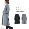 FRED PERRY F8586 Pleated Back Shirt Dress画像
