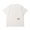 UGG BLOCKING T-SHIRTS WHITE 20AW-UGTP03画像
