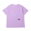 UGG BLOCKING T-SHIRTS LAVENDER 20AW-UGTP03画像