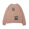 UGG BLOCKING SWEAT BEIGE 20AW-UGTP04画像