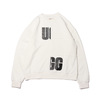 UGG BLOCKING SWEAT WHITE 20AW-UGTP04画像