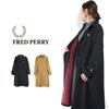 FRED PERRY Lady's F6324 Harrington Coat画像