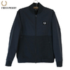 FRED PERRY J9542 Woven Panel Bomber Sweat Shirt画像