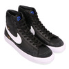 NIKE W BLAZER MID '77 SE BLACK/WHITE-HYPER ROYAL-WHITE CZ4627-001画像