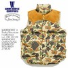 ROCKY MOUNTAIN × WAREHOUSE Lot 2158 CAMOUFLAGE DOWN VEST画像