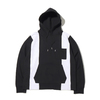 atmos 5PANEL SWEAT HOODIE BLACK AT20-056-BLK画像