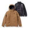 THE NORTH FACE CASSIUS TRICLIMATE JACKET UTILITY BROWN NP62035-UB画像