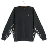 FRED PERRY G9142 Floral Panel SweatShirts画像