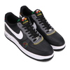 NIKE AIR FORCE 1 '07 LV8 BLACK/WHITE-DARK GREY-UNIVERSITY GOLD DC1483-001画像