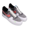 NIKE AIR FORCE 1 '07 WHITE/SPORT RED-GREY-ELECTRIC GREEN CU5625-122画像