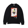 PUMA atmos×THREE TIDES TATTOO crew neck sweat BLACK 921468-02画像