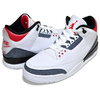 NIKE AIR JORDAN 3 RETRO SE-T CO.JP white/fire red-black CZ6433-100画像