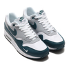 NIKE AIR MAX 1 LV8 WHITE/DARK TEAL GREEN-WOLF GREY-BLACK DH4059-101画像