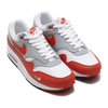 NIKE AIR MAX 1 LV8 WHITE/MARTIAN SUNRISE-WOLF GREY-BLACK DH4059-102画像