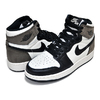 NIKE AIR JORDAN 1 HI OG (GS) sail/black-dark mocha 575441-105画像