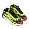 Reebok MODEL F BLACK/ACID YELLOW/VECTOR RED H02760画像