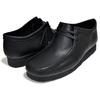 Clarks WALLABEE BLACK LEATHER 26155514画像