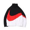 NIKE AS M NSW HBR JKT WVN STMT BLACK/UNIVERSITY RED/WHITE/BLACK AR3133-011画像