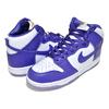 NIKE WMNS DUNK HI SP white/varsity purple DC5382-100画像