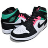 NIKE AIR JORDAN 1 MID SE white/hot punch-black 852542-116画像