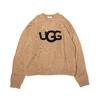 UGG ロゴ モヘアニット BEIGE 20AW-UGNT01-BEG画像