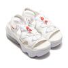 NIKE WMNS AIR MAX KOKO SANDAL WHITE/UNIVERSITY RED-SUMMIT WHITE CZ9076-161画像