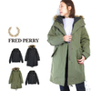 FRED PERRY Lady's J9121 Zip in Linner Parka 60/40画像