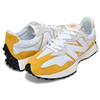 new balance MS327PG WHITE/YELLOW PRIMARY PACK画像