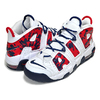 NIKE AIR MORE UPTEMPO (GS) white/university red-blue void CZ7885-100画像