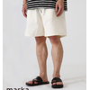 marka MILITARY SHORTS - organic cotton compact silk weather - M21B-11PT01B画像