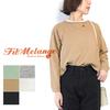 FilMelange LENA L/S CrueNeck Wide Tshirts画像