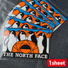 THE NORTH FACE TNF Print Sticker NN32121-AT画像