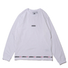 adidas LINEAR REPEAT LS TEE WHITE GN3880画像