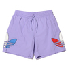 adidas TRICOL SWIM SHORTS LIGHT PURPLE GN3569画像