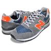 new balance CM996SHA GRAY/ NAVY BLUE/ ORANGE画像